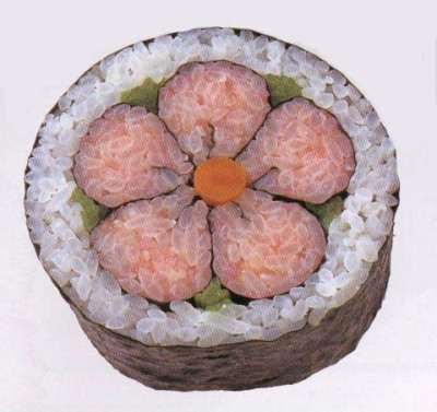 Sushi of Mr. Kawasuken, an award-winning master sushi chef in Japan