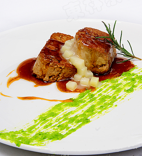 creative vegetarian dishes with nice presentation from