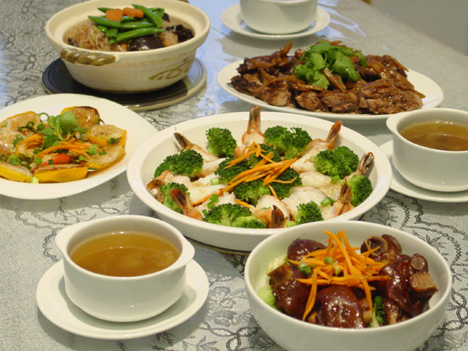 2011 mid autumn festival chinese dinner