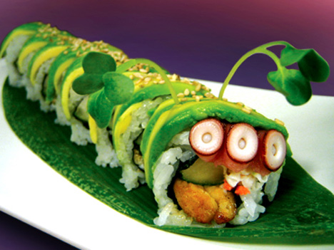 More Caterpillar Roll Sushi | Cooking with Kathy Man