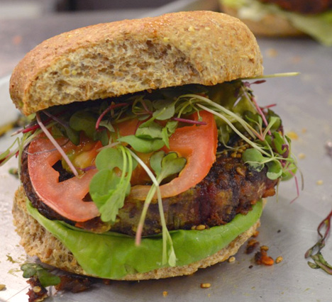 In Pictures: Veggie Burgers | Cooking with Kathy Man