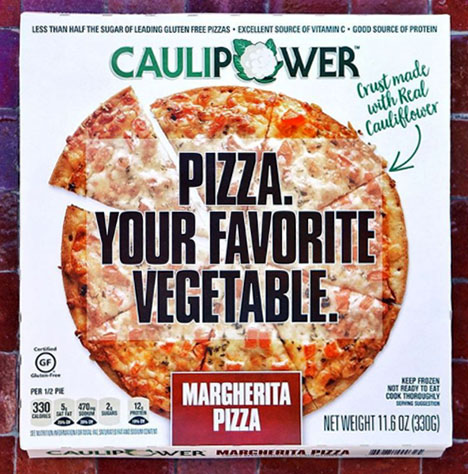 California Pizza Kitchen Offers Pizza with Cauliflower ...